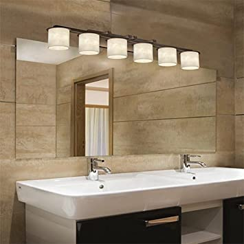Attirant Justice Design Group CLD 8786 10 DBRZ Clouds Collection Dakota 6 Light