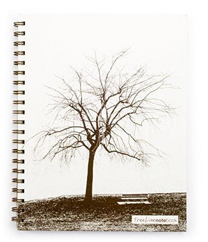 (TreeLine NoteBook - (8.5 x 11 inches) Side-bound Notebook)