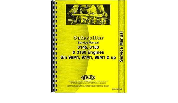 caterpillar engine service manual ct s eng3145 caterpillar rh amazon com Caterpillar Diesel Engines Caterpillar 3160 Engine Service Manual