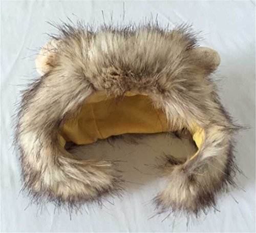 Dog Lion Mane Wigs Costume Cosplay Hair Party Fancy Dress Pet Cat Toy by ISHOWStore (Image #2)