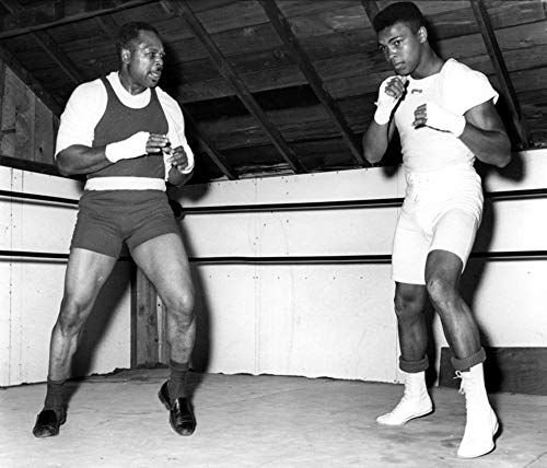 Muhammad Ali training with Archie Moore Photo Print (10 x 8)