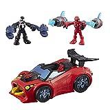 venom kid robot - Playskool Heroes Marvel Super Hero Adventures Spider-Man Arachno Racer