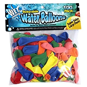 Biodegradable Water Balloons