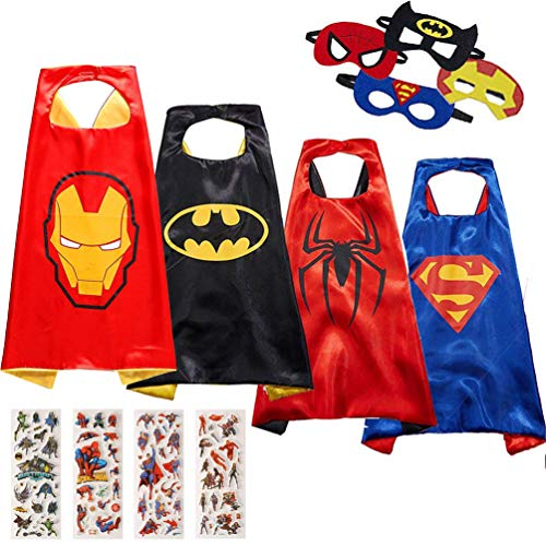Superhero Capes and Costume - Halloween and Party Supplies Superhero Capes for Kids by NuGeriAZ