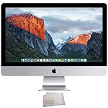 "Apple 27"" iMac with Retina 5K Display (FK472LL/A) + Microfiber Cleaning Cloth (Certified Refurbished)"