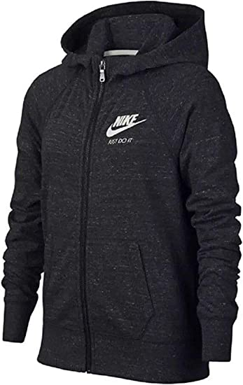 Little Kids Nike Kids Girls Gym Vintage Full Zip Hoodie