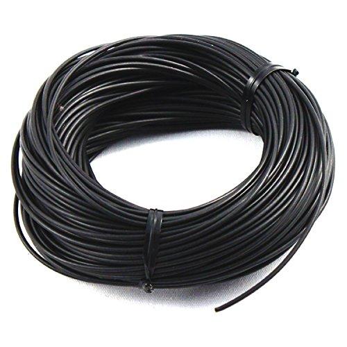 ASR Tactical Kevlar Survival Cord Rope (Multiple Lengths) (Black, 25 ft)
