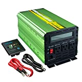EDECOA 2000 Watt Power Inverter 12V to 120V with LCD Display and...