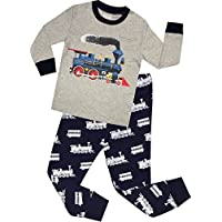 Halloween Pajamas for Boys Glow in The Dark Children Skeleton Clothes Kids Pants Set