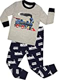 100% soft cotton pajamas set,suitable for everyone. Your little one will sleep comfortable with them and enjoy these cute design.These sleepwear are nugly fitted sleepwear. If your child is above average,consider a or two bigger size.Welcome ...