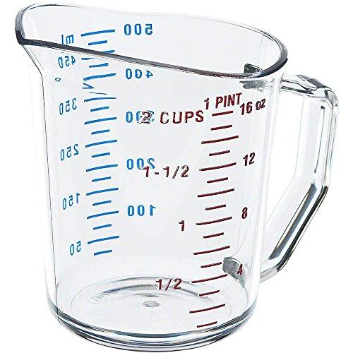 Camwear Plastic Clear Measuring Cup