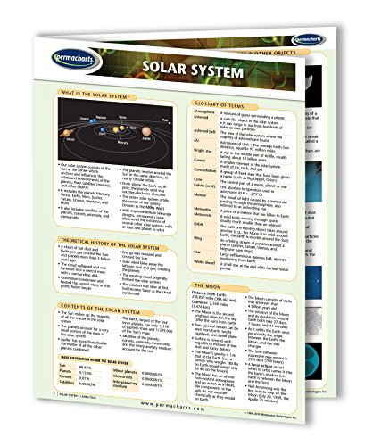 Solar System Guide - Astronomy Guide Quick Reference Guide b