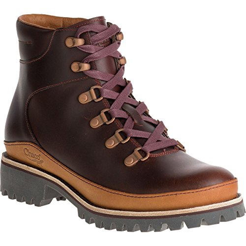 Chaco Women's Fields-W Hiking Boot, Rust, 10 M US