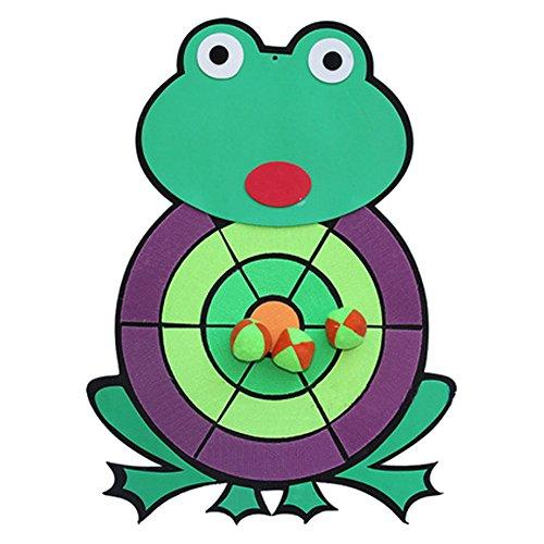 子供たちダーツボードおもちゃ漫画ダーツボード 蛙