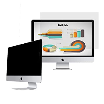 befon Premium - Filtro de privacidad y Protector de Pantalla para Ordenador portátil 409x230mm (18.5
