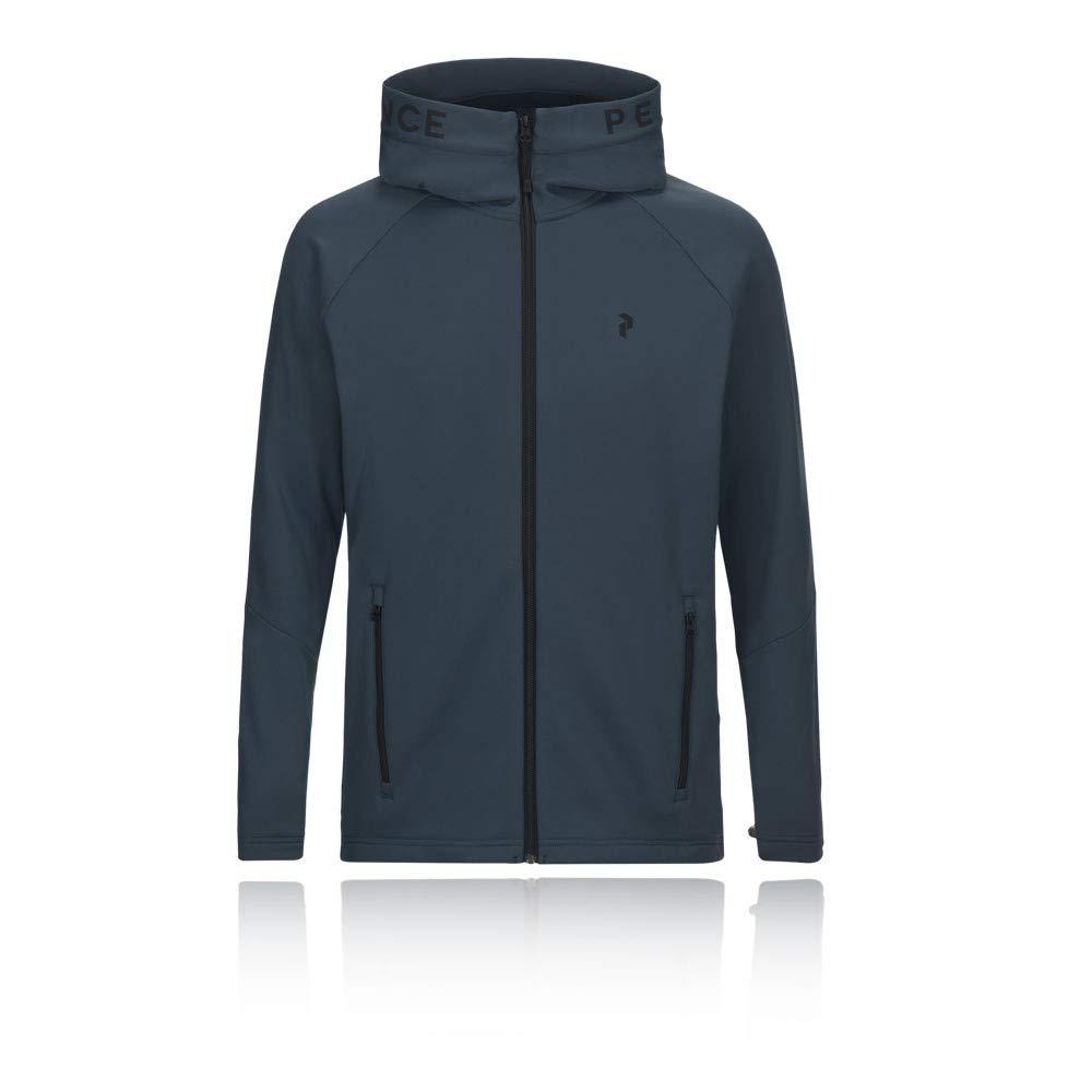 SS19 Peak Performance Rider Midlayer Zip-Up Hooded Jacket