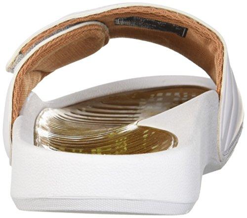 Fit Bianco Copper Da Donna Glide Sandalo Gel zHxwq06Sa