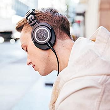 Audio-technica Ath-m50x Professional Studio Monitor Headphones, Black 17