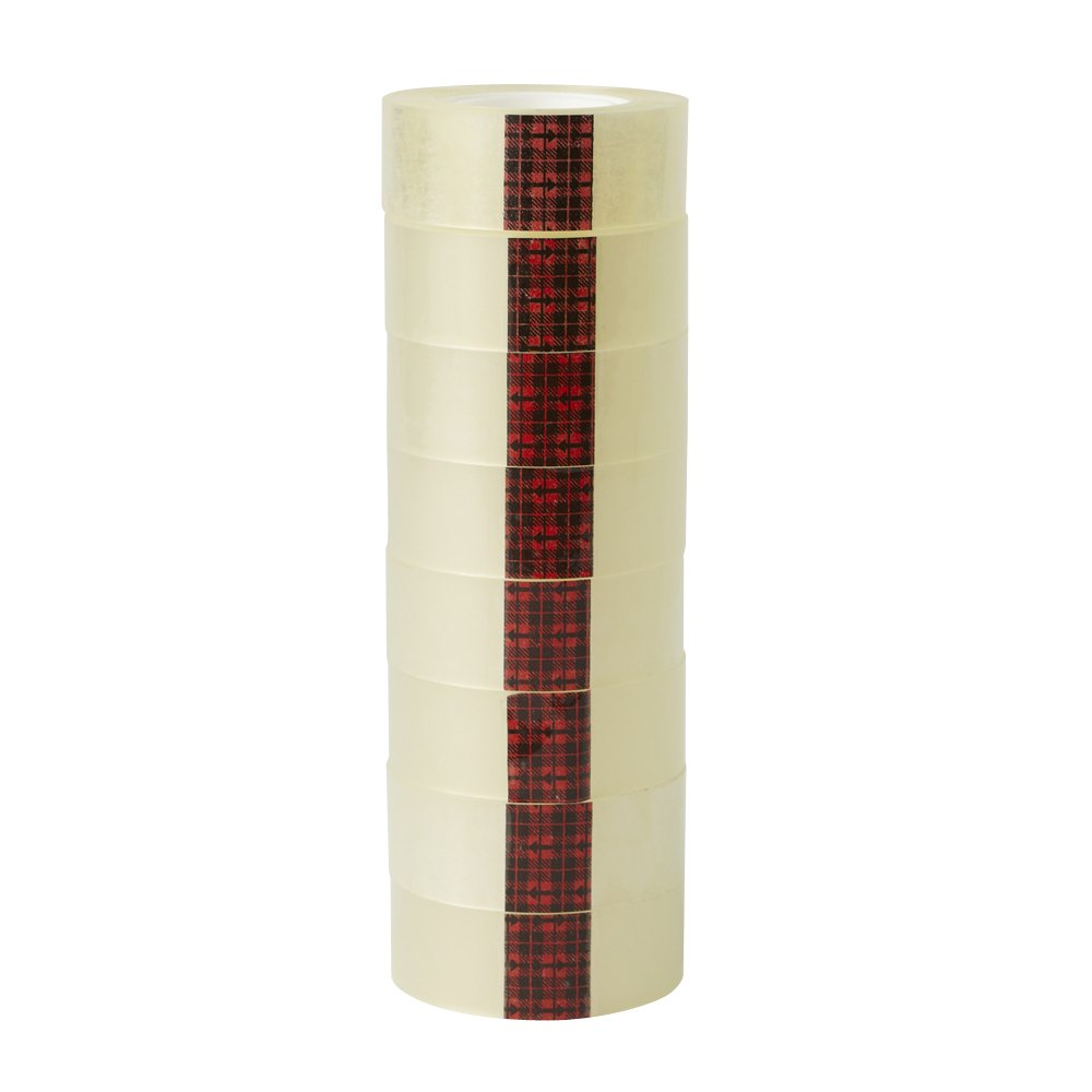 Scotch Easy Tear Tape, 19 mm x 33 m - Clear, Pack of 8 Rolls: Amazon ...