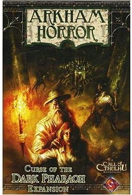 Arkham Horror - La maldición del Faraón Oscuro, Expansión: Amazon.es: Fantasy Flight Games, Fantasy Flight: Libros en idiomas extranjeros