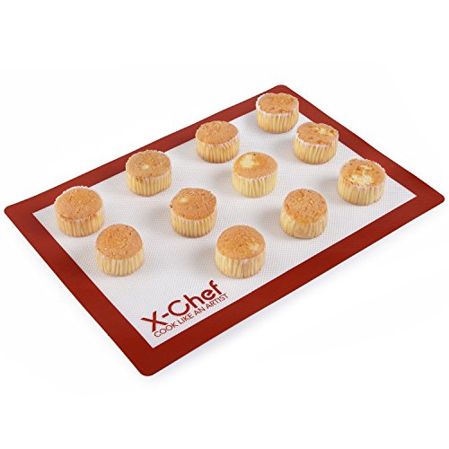 Silicone Baking Mat X Chef Non Stick Silicone Rolling Mat