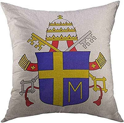LisaArticles Pillow Covers,Papal Pope