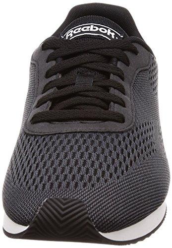 Reebok Royal Cl Jog 2px, Scarpe da Fitness Uomo Nero/Grigio/Bianco (Black/Ash Grey/White 000)
