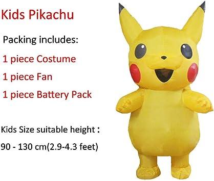 Disfraces inflables de Pikachu Cosplay de Halloween Disfraz de ...