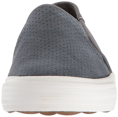 Suede Sneaker Decker Perf Dark Keds Women's Double Gray xXaRw