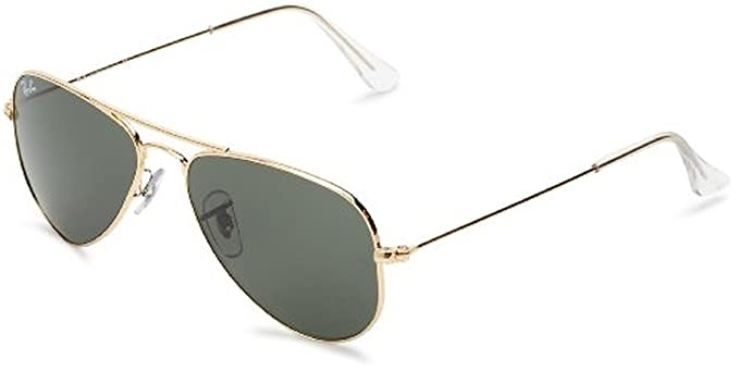 88ebccecdb Ray-Ban Aviator Small Metal RB3044 Sunglasses Arista   Crystal Green 52mm    Cleaning Kit