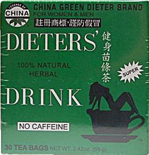 Oncle Lees thé à la diète de thé pour perdre du poids 30 Sacs, 2,42 oz (69g)