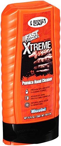 Permatex 25616 Fast Orange Xtreme Hand Cleaner with Rocker Cap, 15 oz. - Orange Cleaner Hand