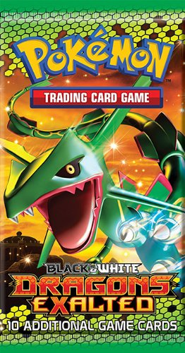 Dragon Booster Pack - Pokemon Black & White Dragons Exalted Booster Pack
