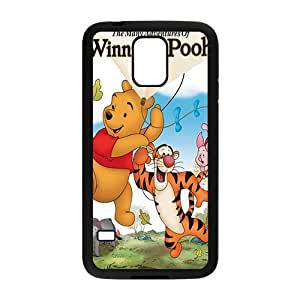Happy Winnie the pooh Case Cover For samsung galaxy S5 Case