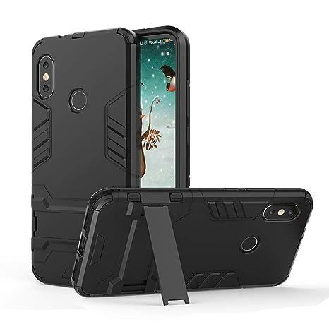 Funda Xiaomi Mi A2 Lite con Soporte, Silicona Carcasa Anti ...