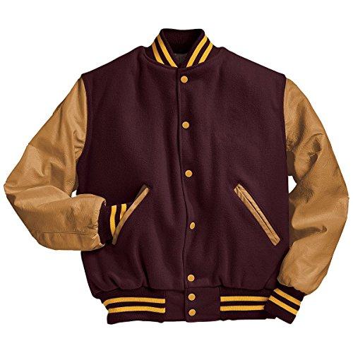 t40 light Gold Holloway nbsp;chaqueta Maroon Sportswear Varsity nbsp;– 224183 8HvwqAF