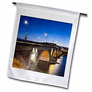 Danita Delimont - Bridges - France, Midi-Pyrenees, Pont Neuf, bridge - EU09 WBI2872 - Walter Bibikow - 12 x 18 inch Garden Flag (fl_81750_1)