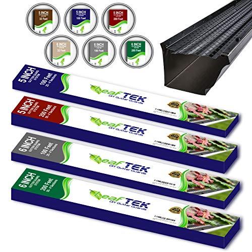 Gutter Leaf Protection - LeafTek 6