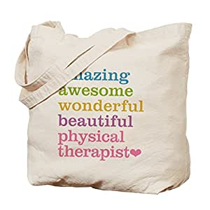 CafePress - Physical Therapist - Natural Canvas Tote Bag, Cloth Shopping Bag
