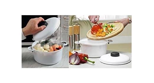 Microondas Presure olla vaporera verduras arroz Pasta de sopa olla ...