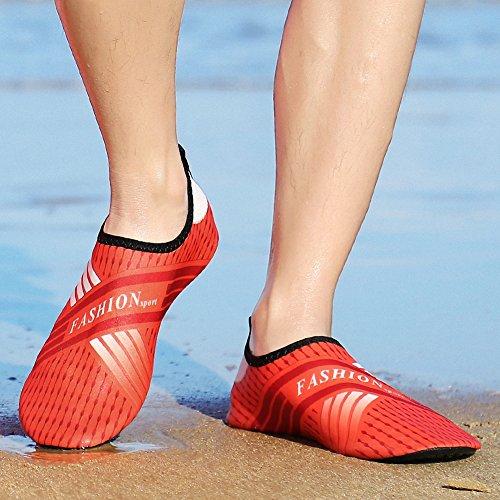 Orange Sneakers H Water Swim Aqua Yoga Beach Womens Mens ZHENZHONG Surf Sports Quick Dry Shoes Water Shoes Dive CZBTnagwxq