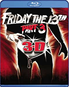 NEW Kimmell/brooker/parks - Friday The 13th Pt. 3 3d (Blu-ray)