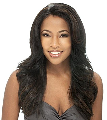 ESTELLE - Shake N Go Freetress Equal Lace Front Natural Hairline Wig #1B/30