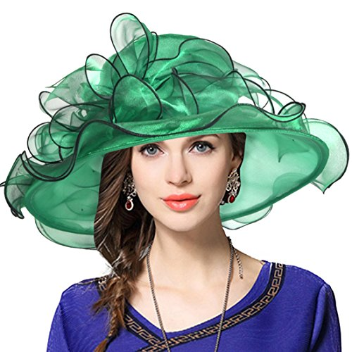 Green Sheer Cap - 5