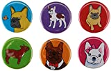 French Bulldog Silly Dog Magnet Set of 6