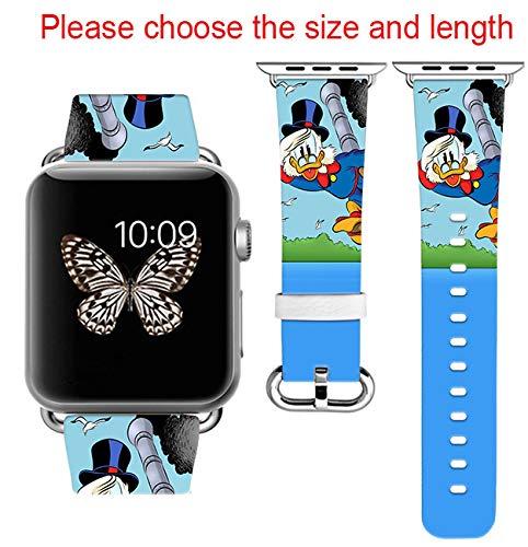 Amazon.com: Scrooge mcduck Disney Apple Watch Band 42MM + ...