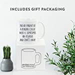 Andaz Press Funny Dog 11oz. Coffee Mug Gag Gift, Proud Parent of a Border Collie Who is Sometimes an Asshole and That's Okay, 1-Pack, Mom Dad Dog Lover's Christmas Birthday Ideas, with Gift Box 8