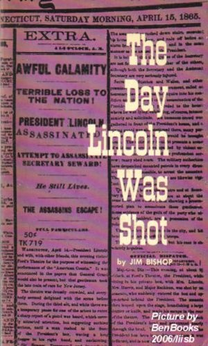 0060800054 - Jim Bishop: The Day Lincoln Was Shot - Buch
