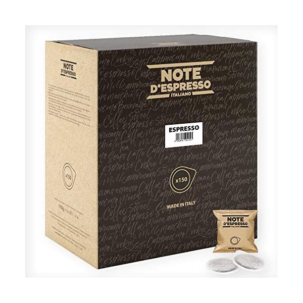 Note D'Espresso – Bolsitas de café expreso monodosis, 7g (caja de 150 bolsas de papel) 51cD96ZYXFL