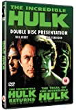 Incredible Hulk - The Incredible Hulk Returns/The Trial Of The Incredible Hulk [1978] [DVD]